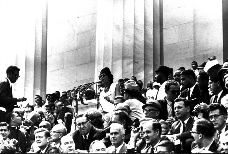 Daisy Bates At March on Washington